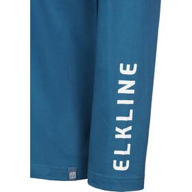 Elkline Hot Seat T-shirt à manches longues Homme, inkblue